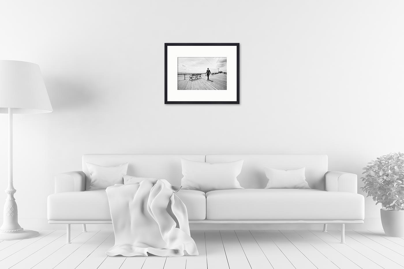 Cadre galerie 40x50 Coney Island Man