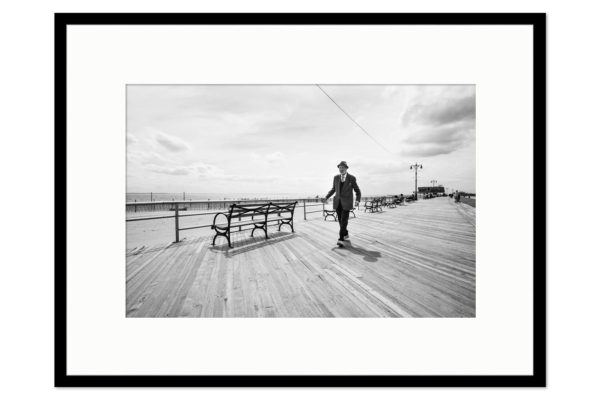 Gallery frame Coney Island Man