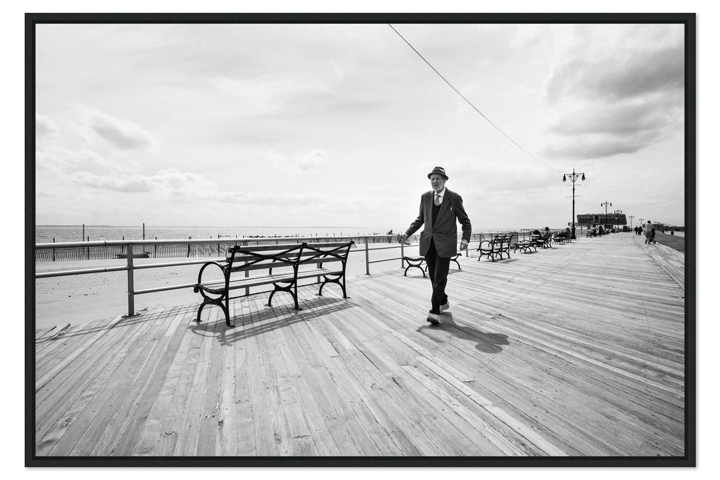 American box Coney Island Man