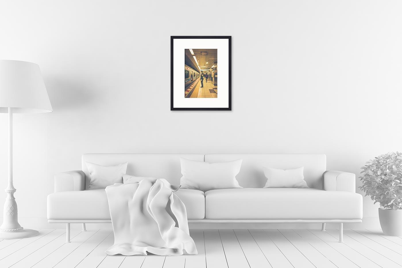 Cadre galerie 40x50 Blurred