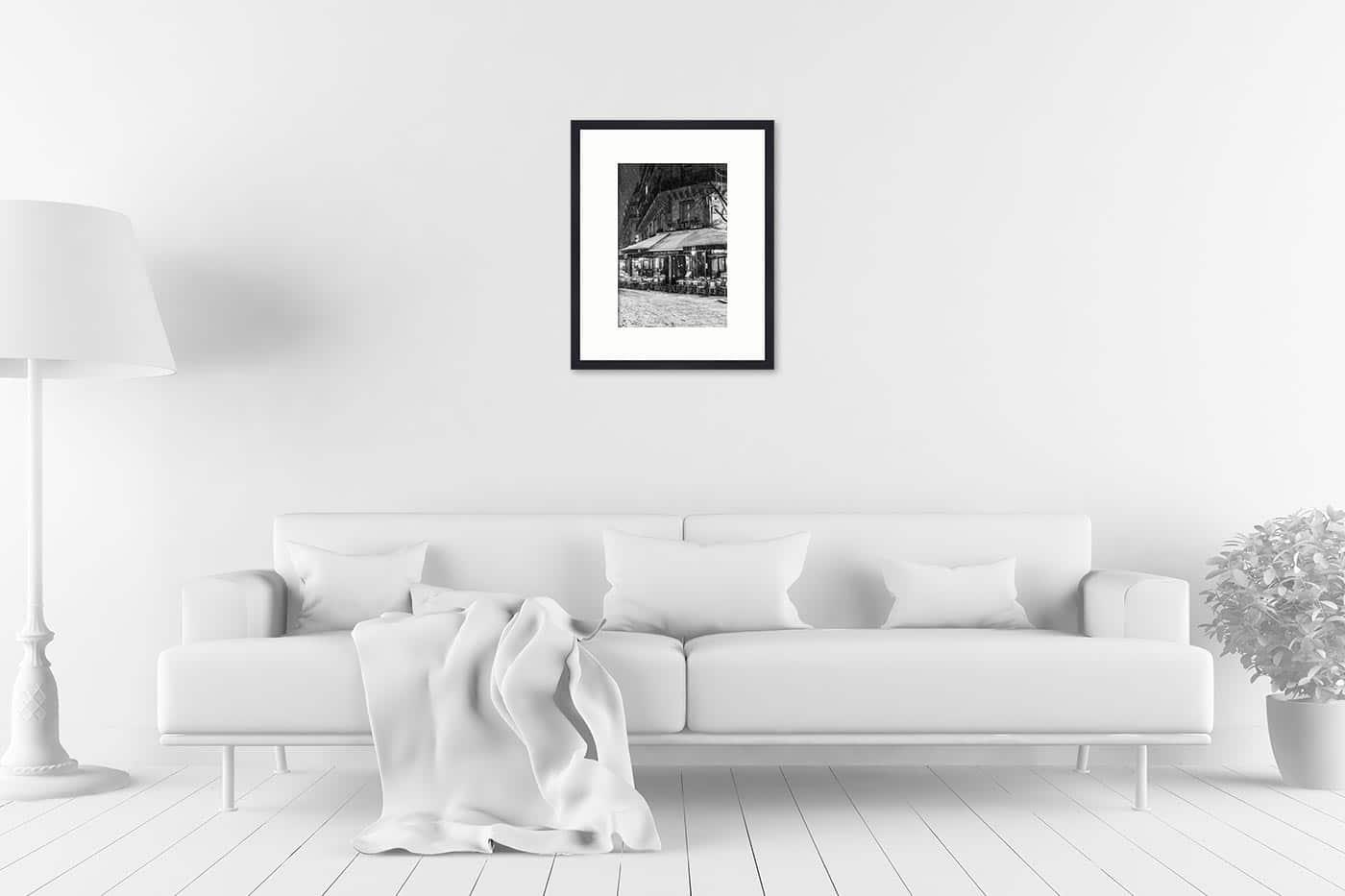 Cadre galerie 40x50 Deux Magots