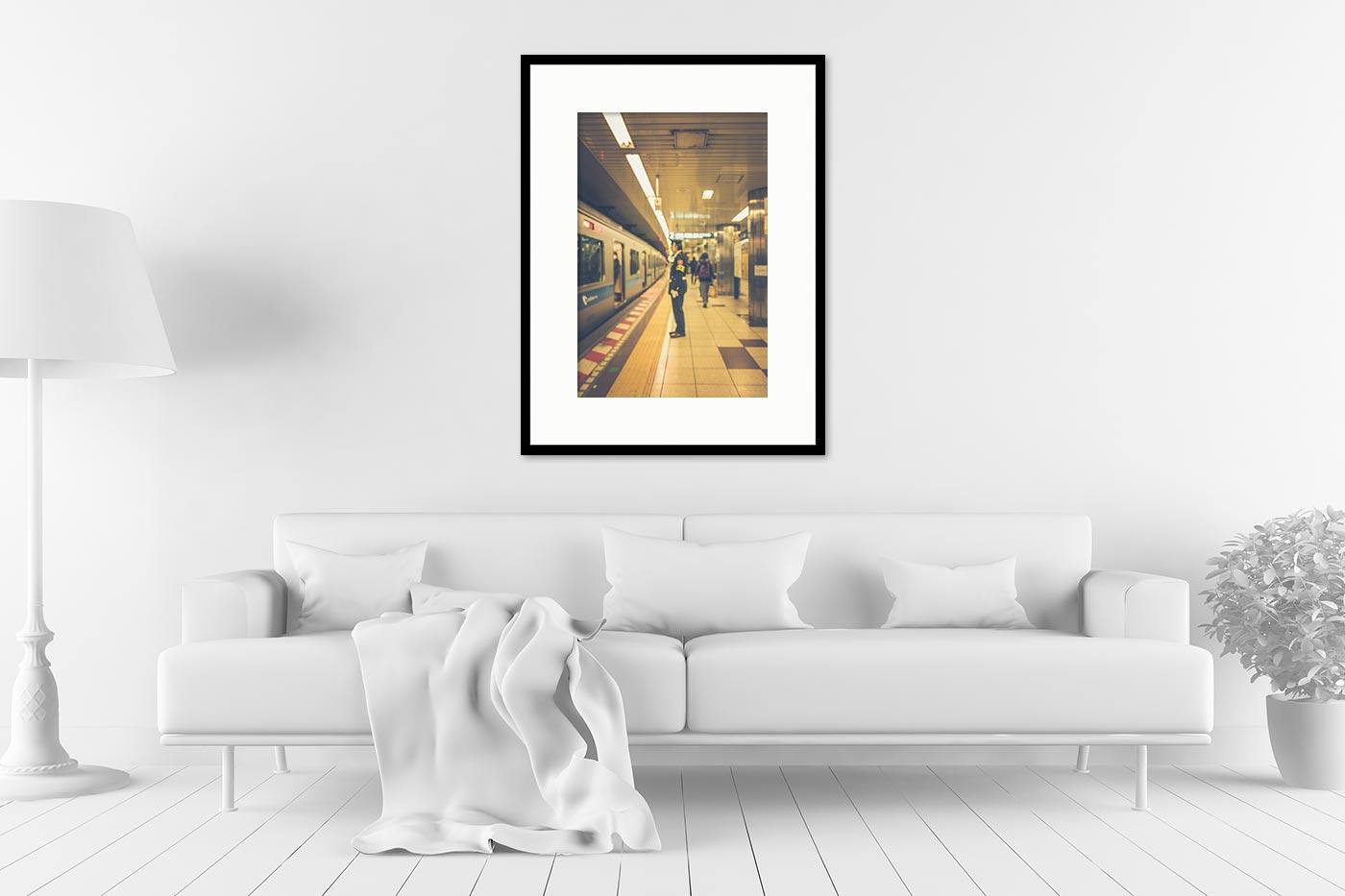 Cadre galerie 60x80 Blurred