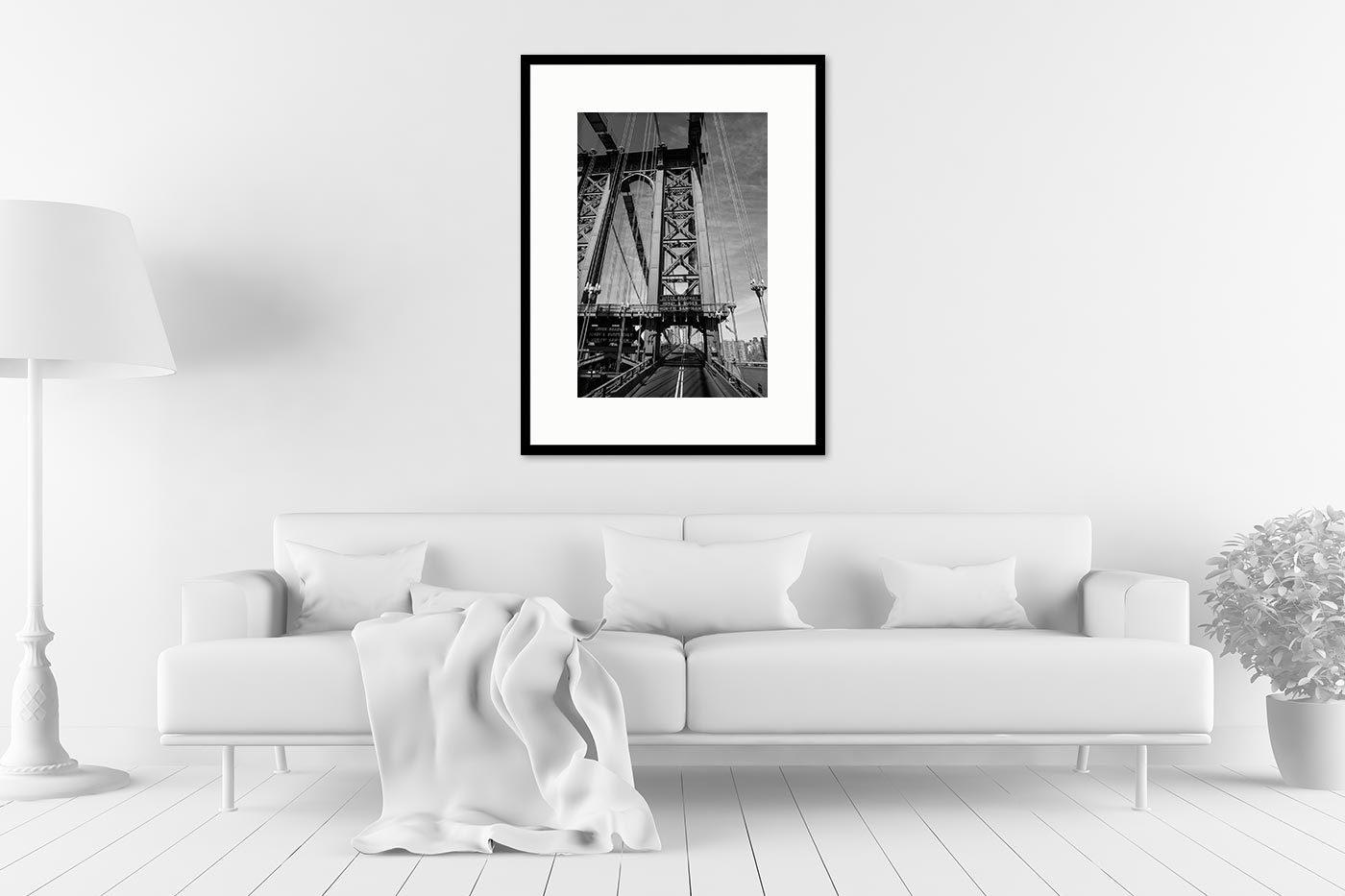 Cadre galerie 60x80 Brooklyn Bridge