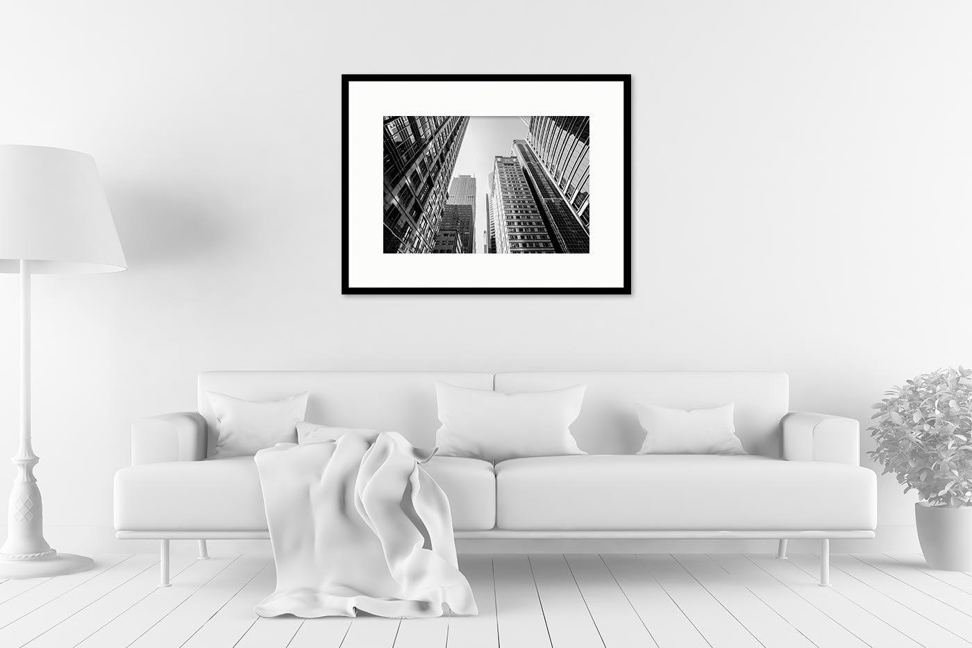 Cadre galerie 60x80 Buildings Chicago