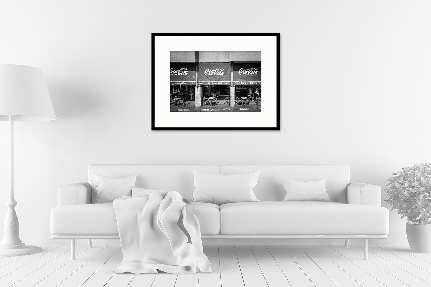 Gallery frame 60x80 Cafe Ennaser