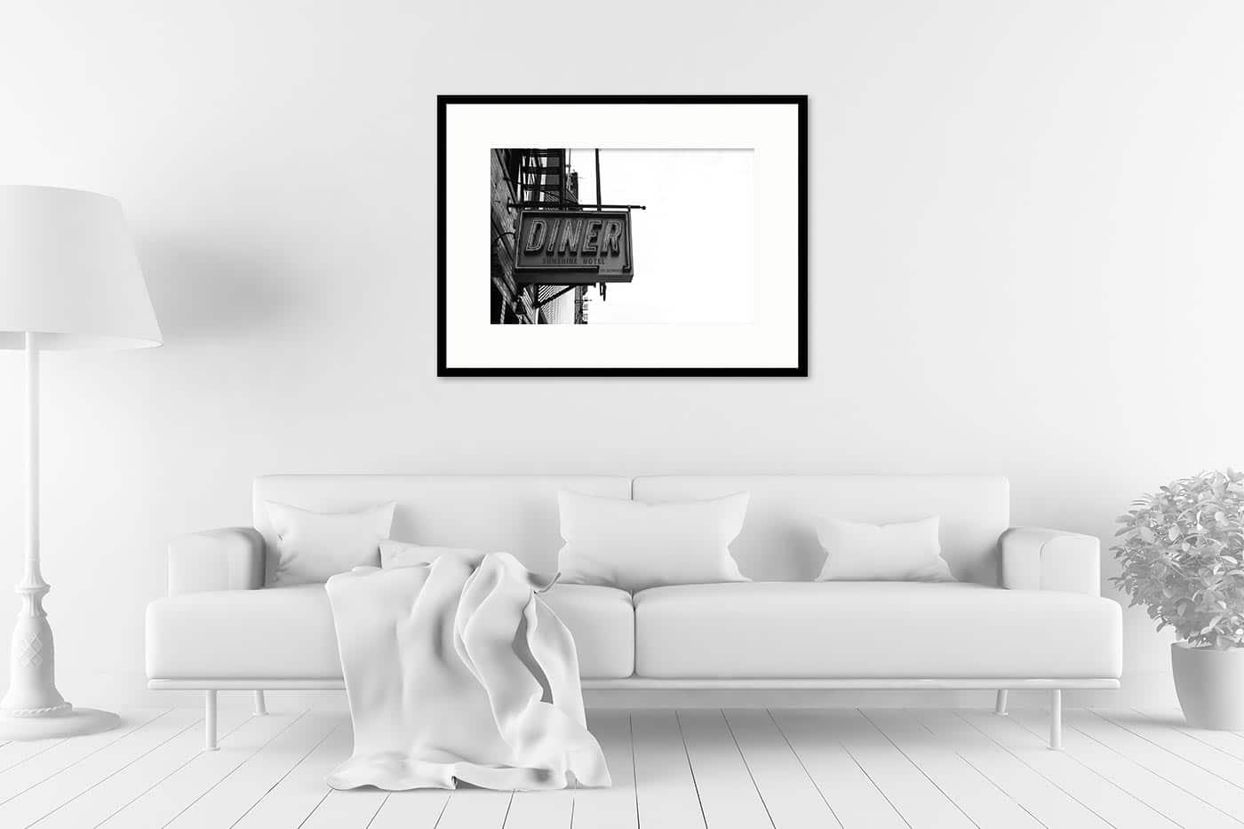 Cadre galerie 60x80 Diner
