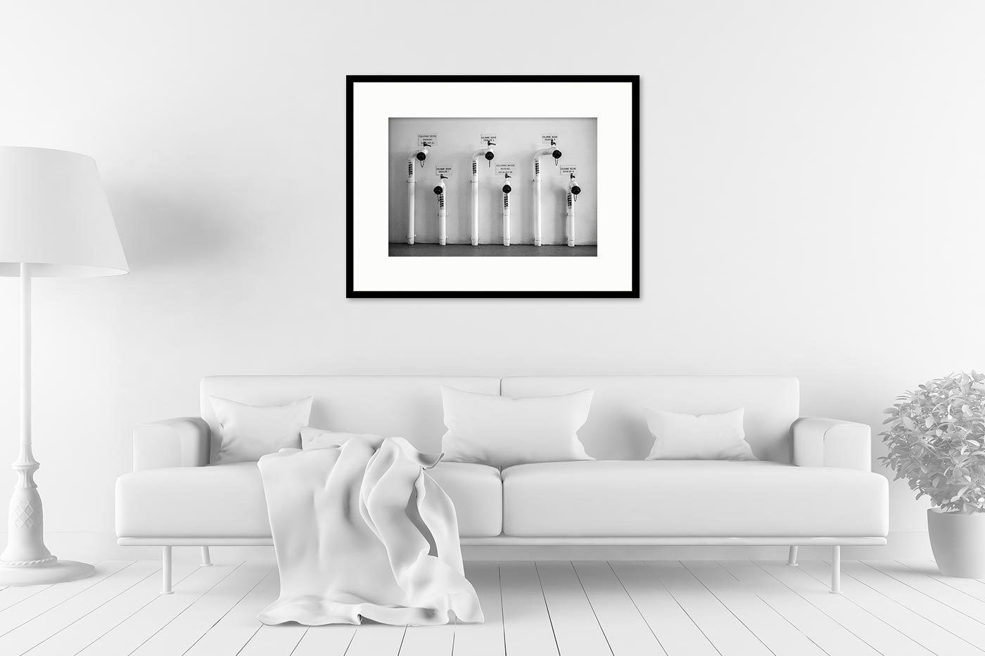 Cadre galerie 60x80 Family Tubes