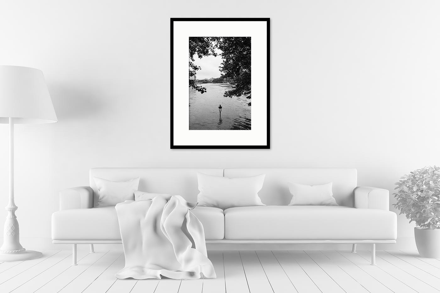 Cadre galerie 60x80 Flooded Paris