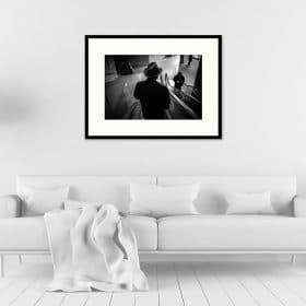 Tirage 40x60 + cadre galerie