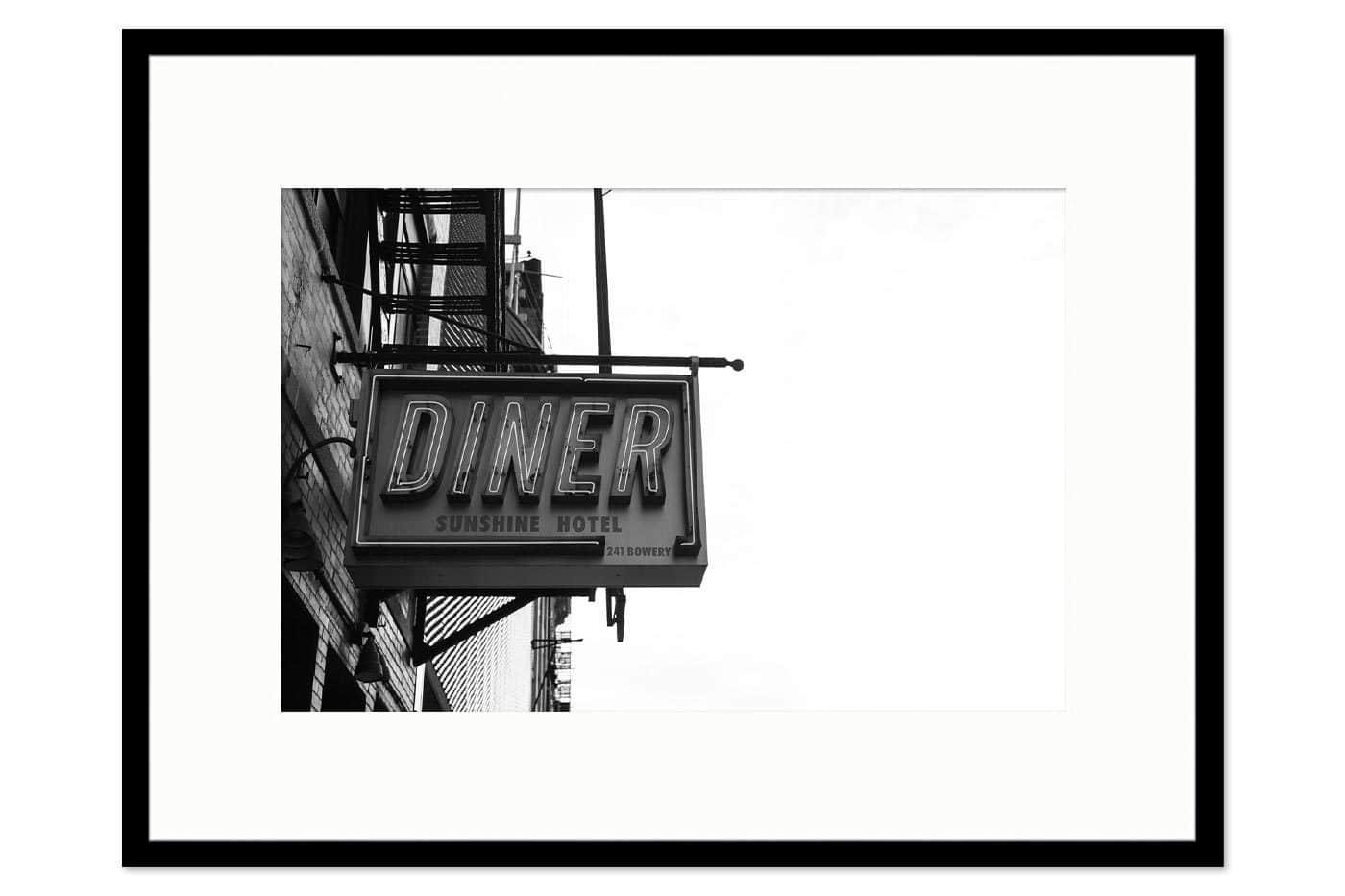 Cadre galerie Diner