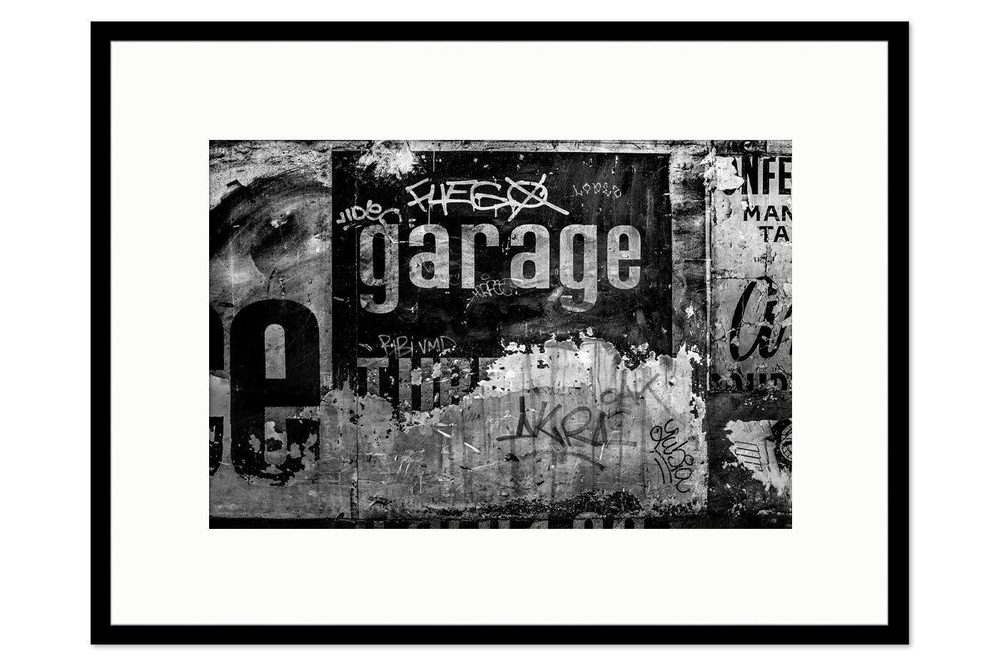 Cadre galerie Garage