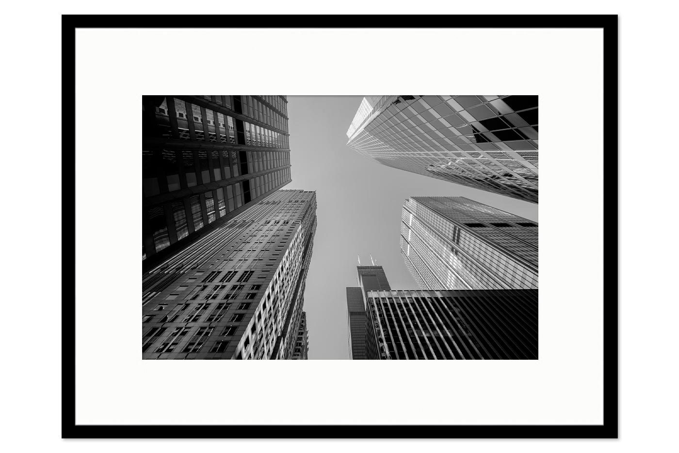 Gallery frame Glass Buildings