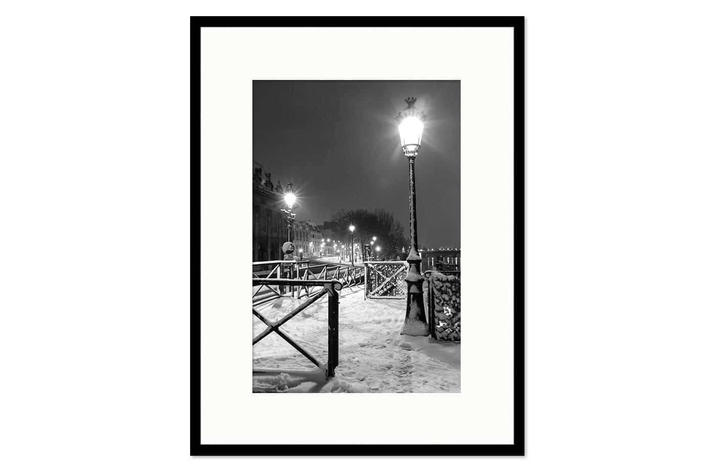 Cadre galerie Light in Snow