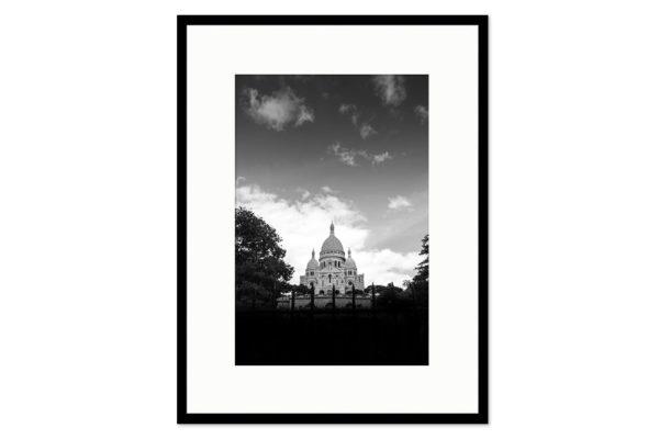 Gallery frame Sacre Coeur