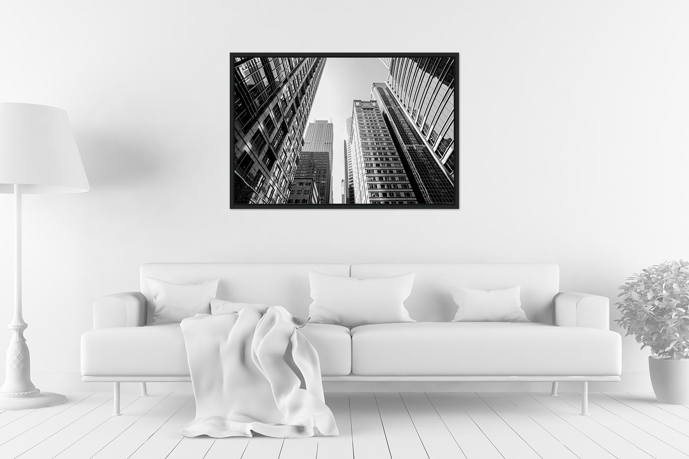 Caisse americaine 60x90 Buildings Chicago