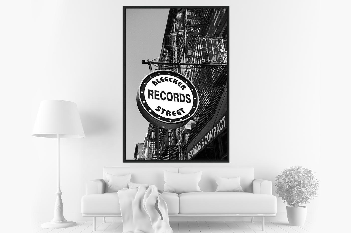 Caisse americaine 80x120 Bleecker Records