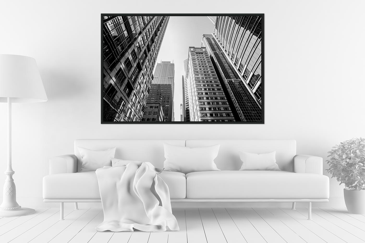 Caisse americaine 80x120 Buildings Chicago