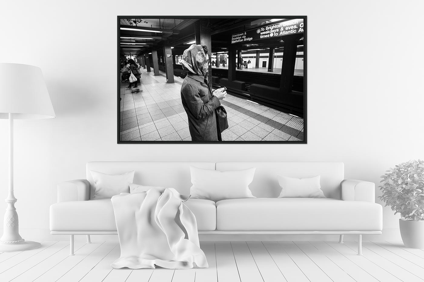 Caisse americaine 80x120 Lady Subway