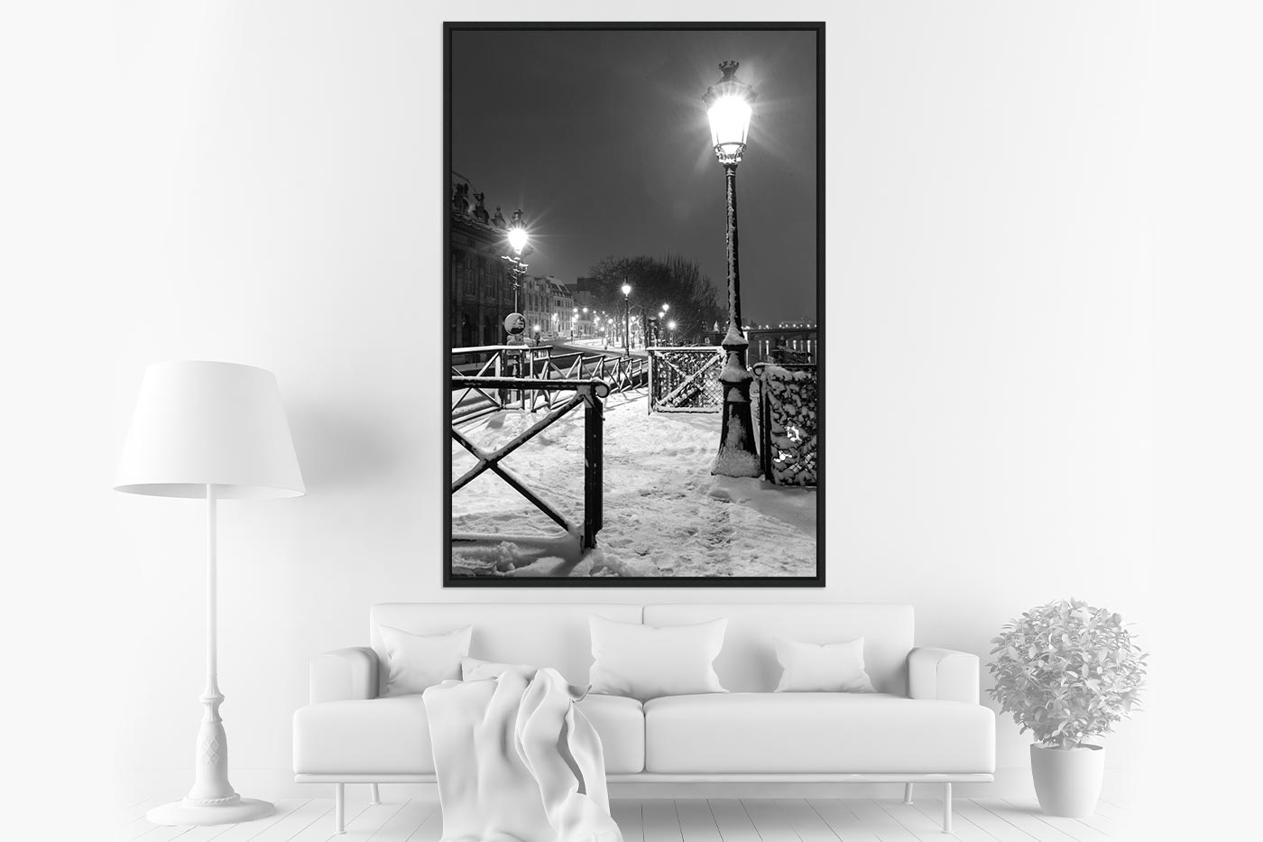 Caisse americaine 80x120 Light in Snow