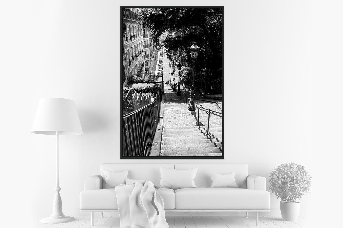 Caisse americaine 80x120 Montmartre
