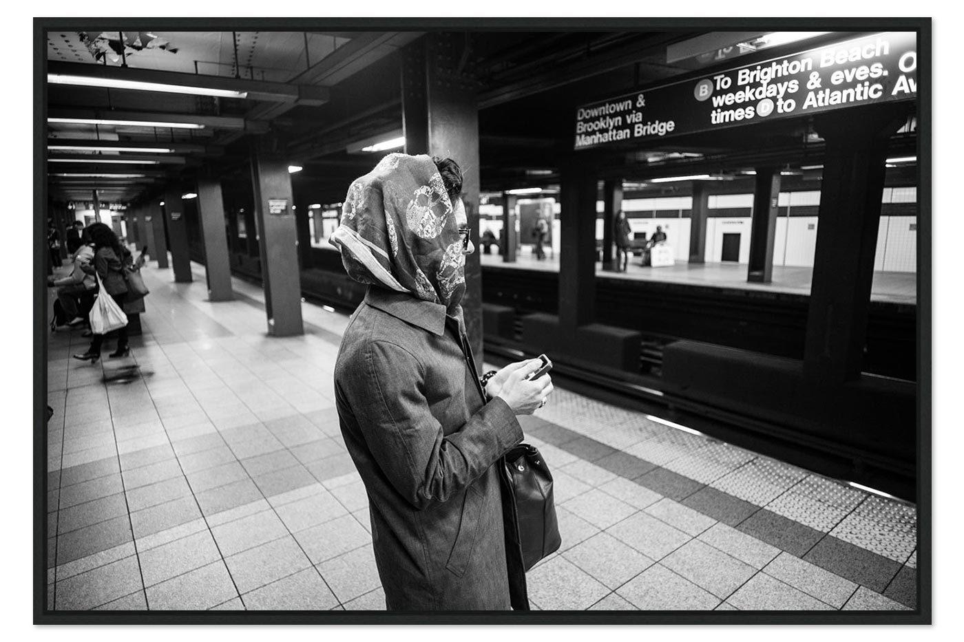 Caisse americaine Lady Subway