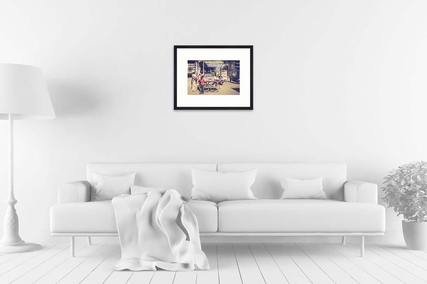 Cadre galerie 40x50 Shopping