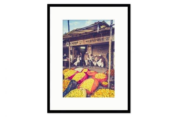 Cadre galerie Flower market