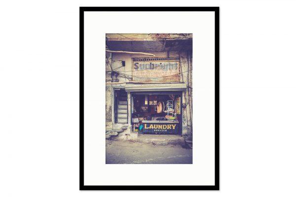 Cadre galerie Laundry