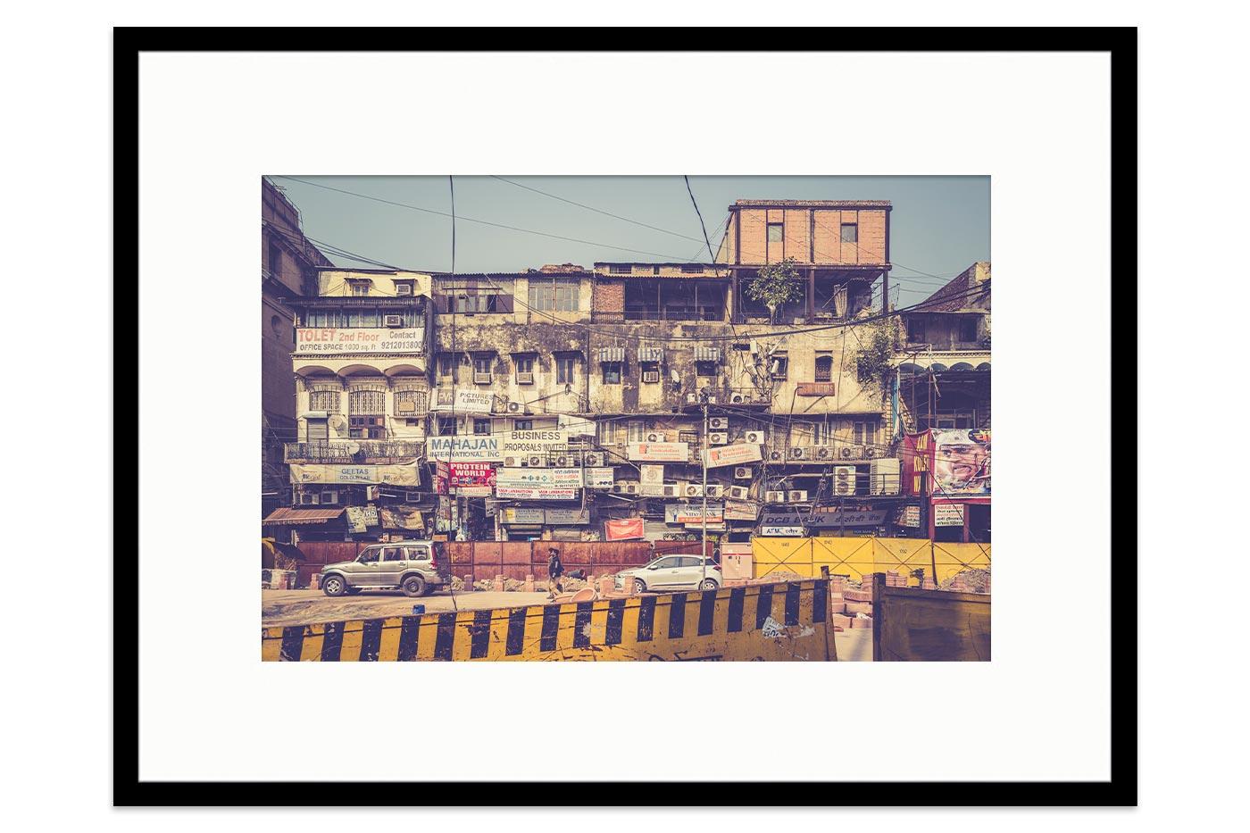 Cadre galerie Old Delhi