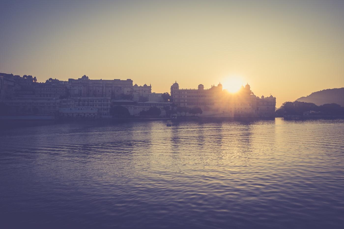 Sunrise in India