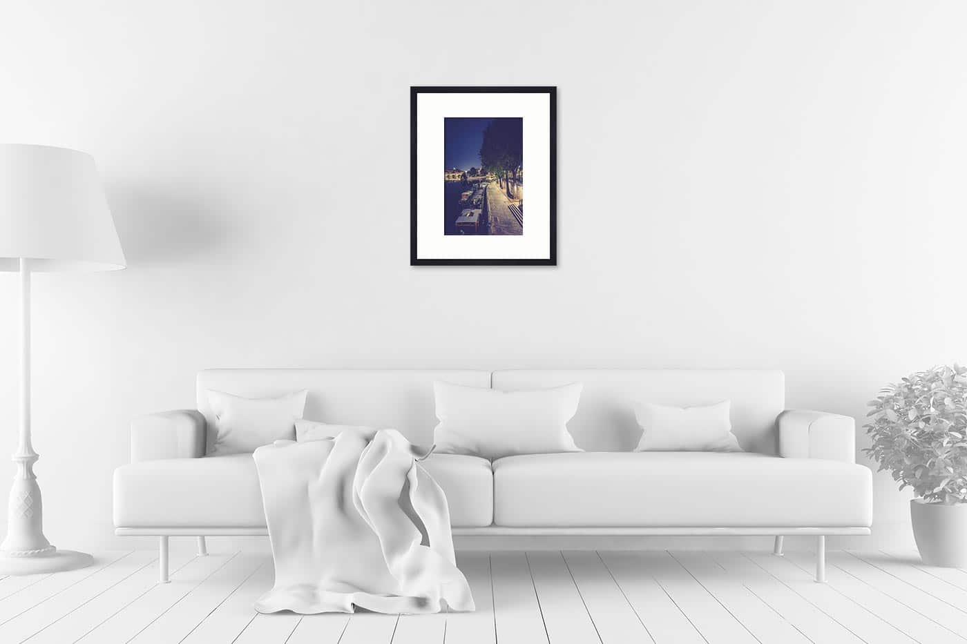 Cadre galerie 40x50 Paris 21H50