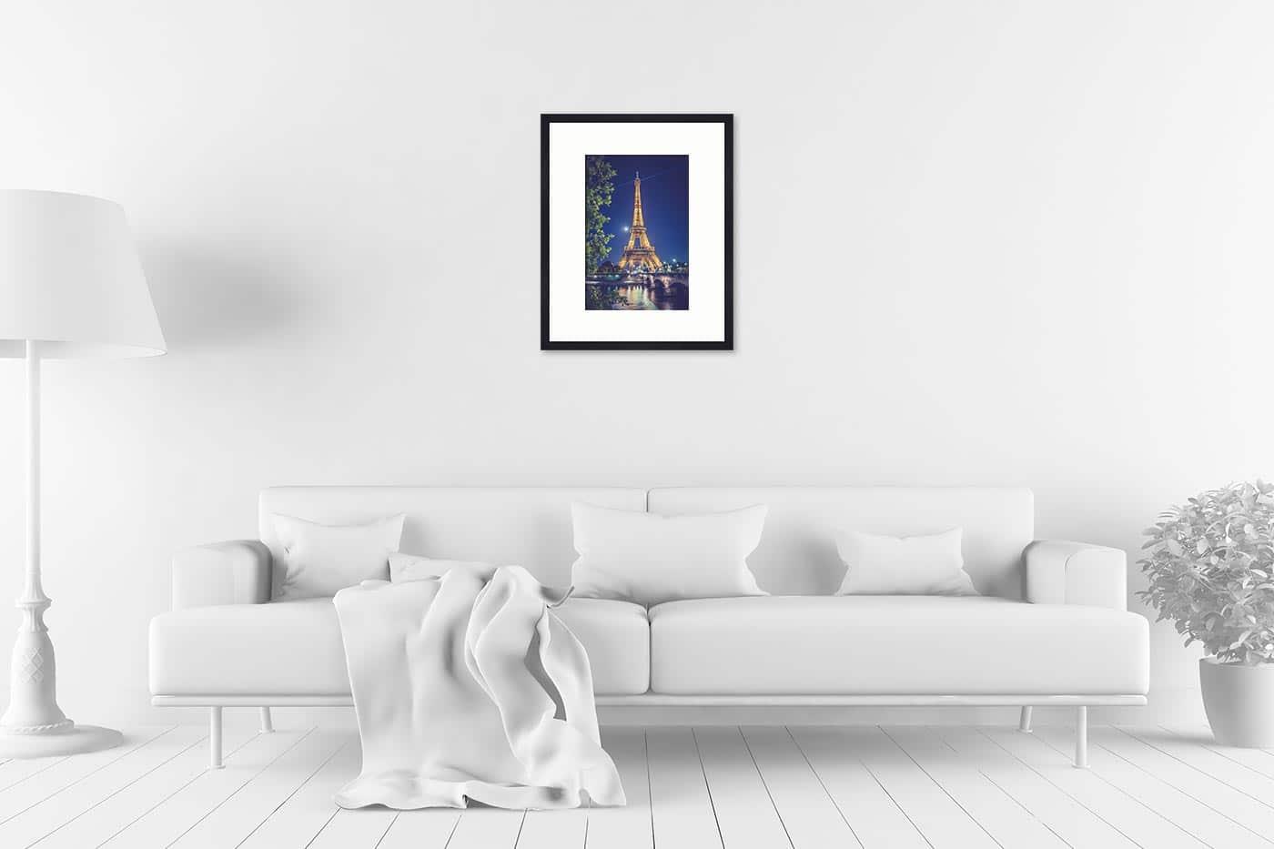 Cadre galerie 40x50 Paris 22H31