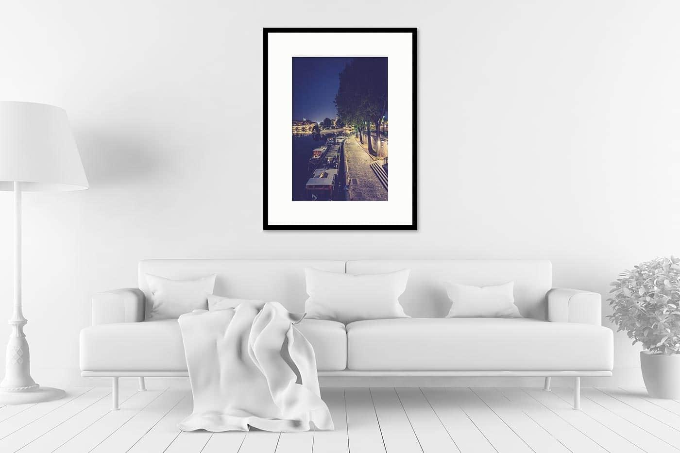 Cadre galerie 60x80 Paris 21H50