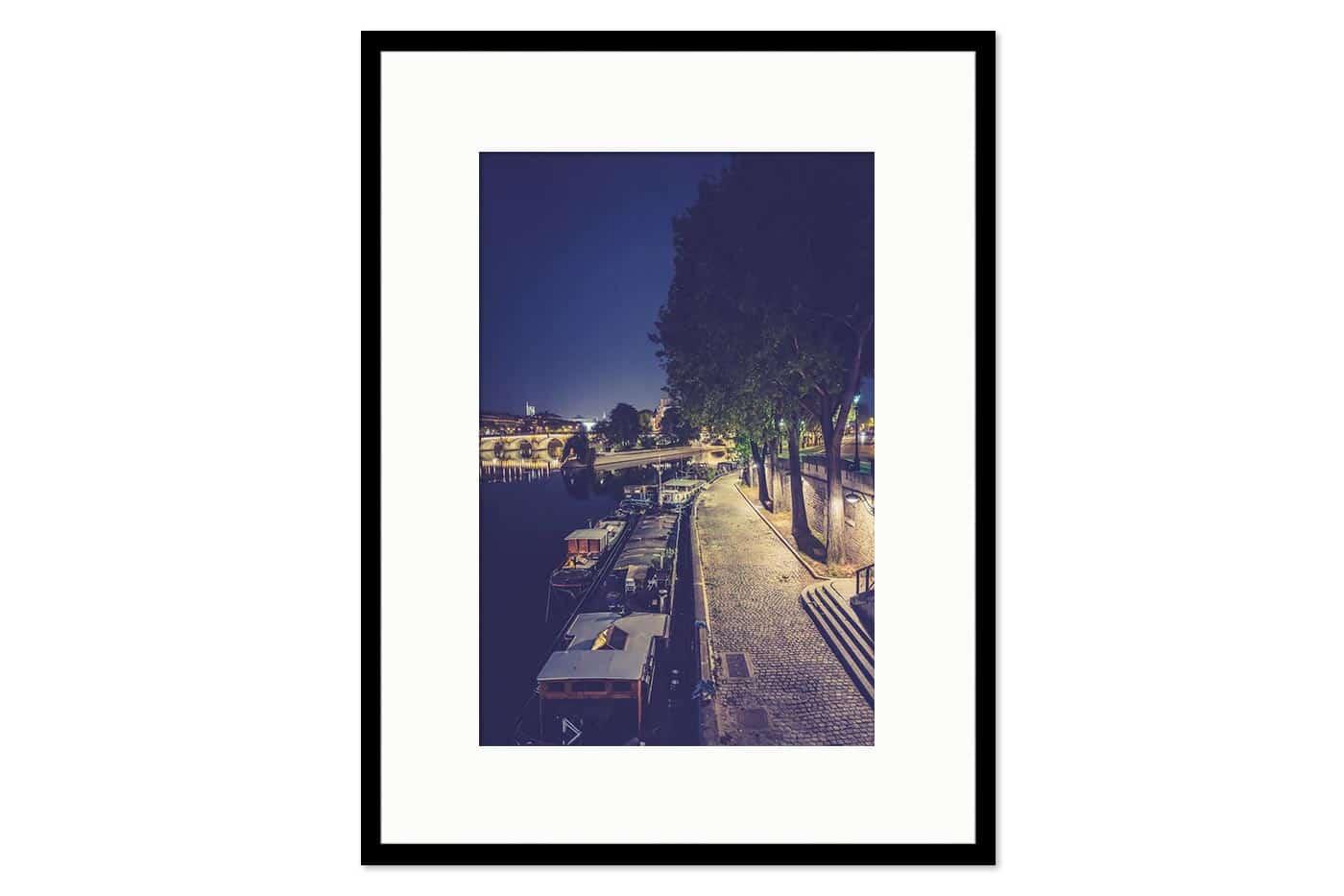 Cadre galerie Paris 21H50