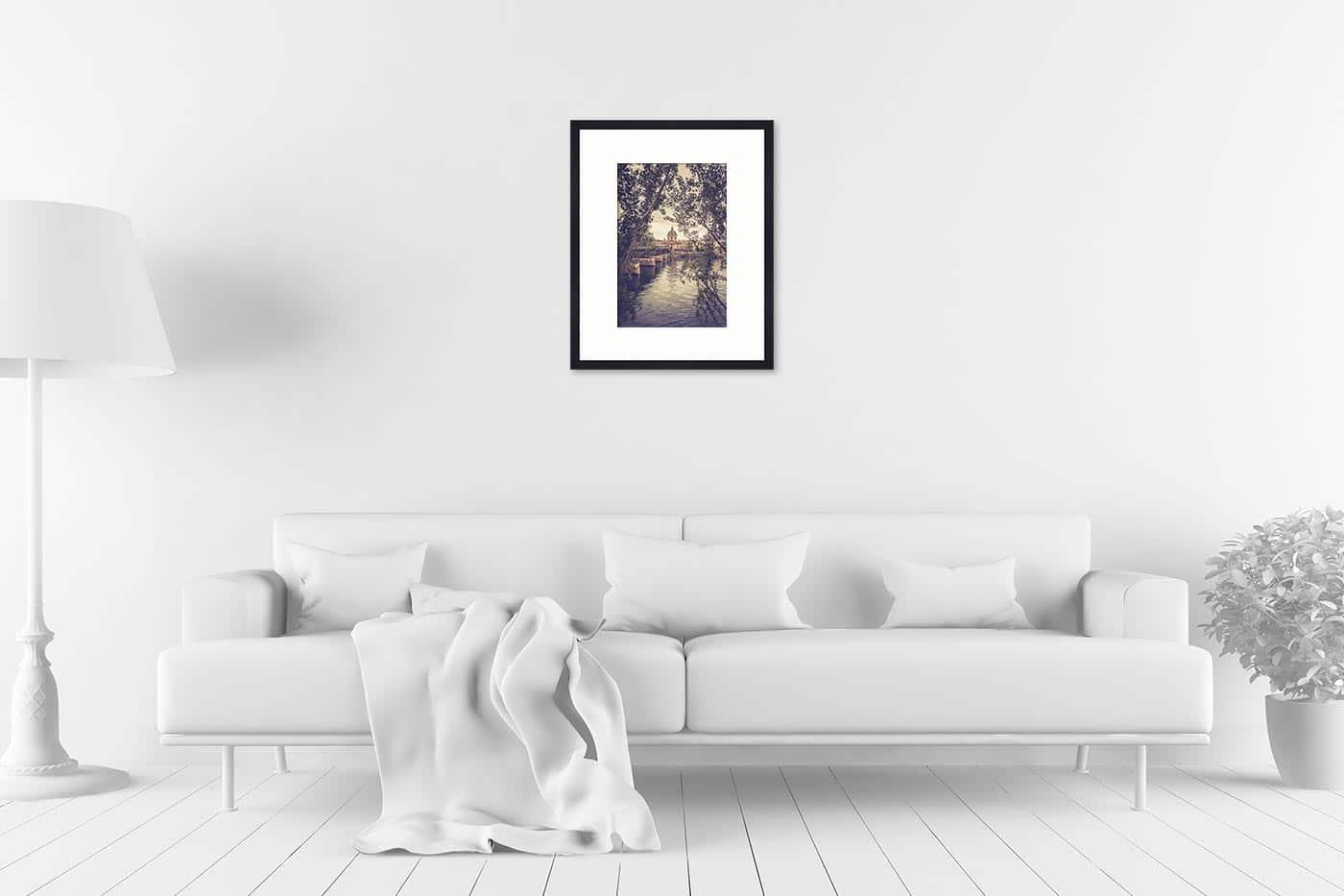 Cadre galerie 40x50 Paris 16H57