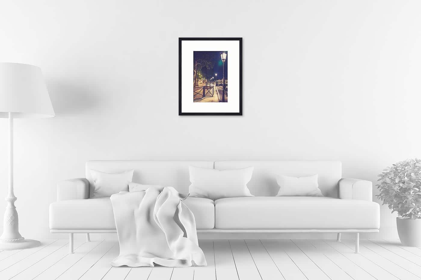 Cadre galerie 40x50 Paris 22H11