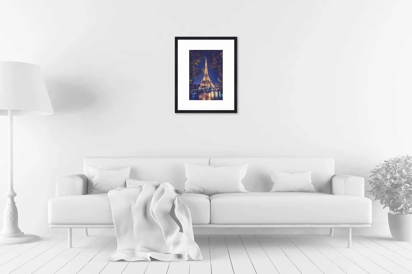 Cadre galerie 40x50 Paris 22H34