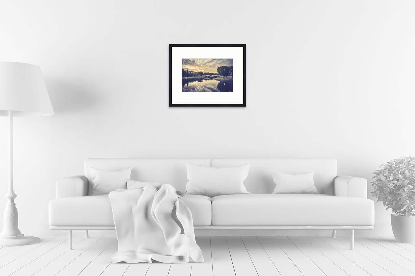Cadre galerie 40x50 Paris 6H52