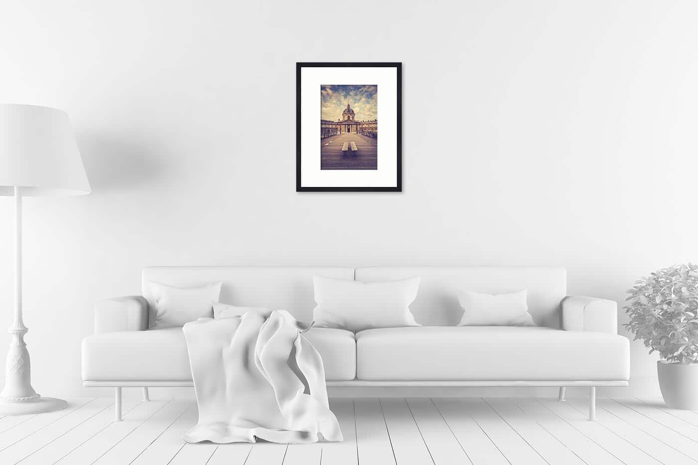Cadre galerie 40x50 Paris 7H37