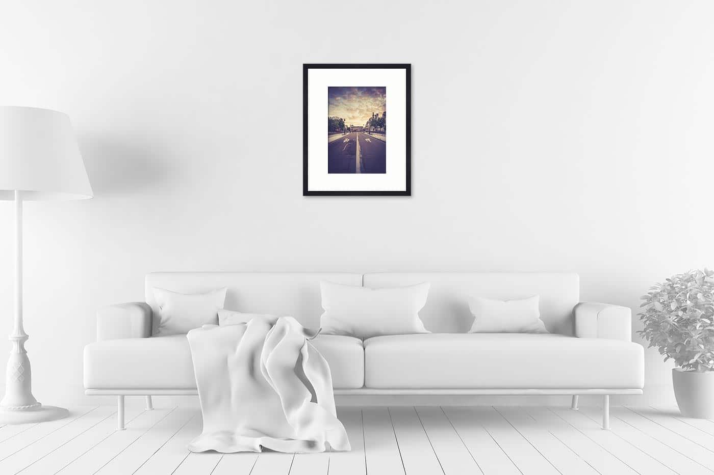Cadre galerie 40x50 Paris 6H34