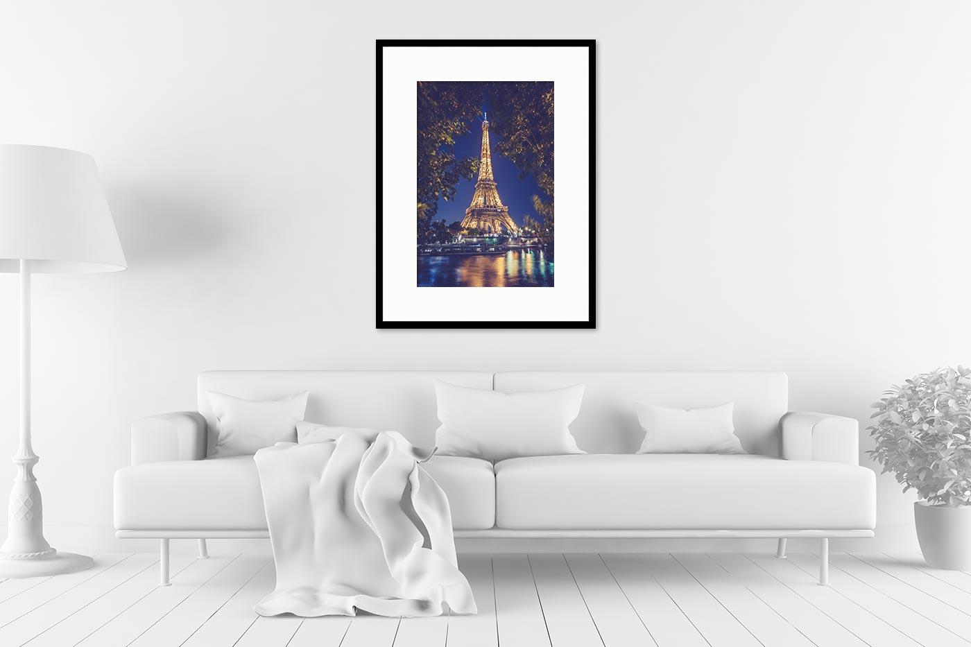 Cadre galerie 60x80 Paris 22H34